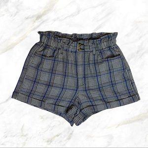4/$30 🌿 AEO   Plaid Printed Bag Shorts
